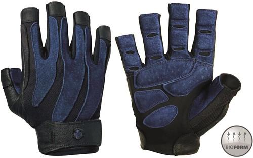 Harbinger Men's BioForm Fitness Handschoenen - Zwart/Blauw