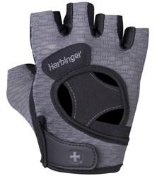 Harbinger Womens FlexFit fitness handschoenen Black/Grey