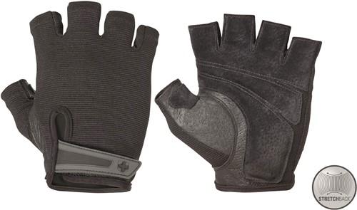 Harbinger Men's Power StretchBack Fitness Handschoenen - Zwart - L