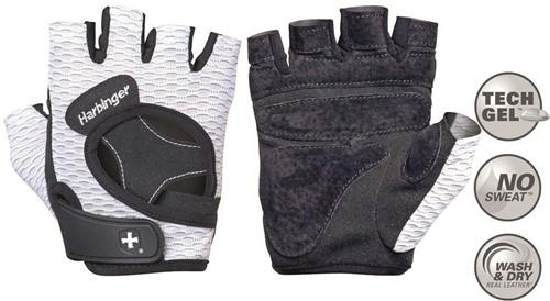 Harbinger Women's FlexFit Fitness Handschoenen - Wit