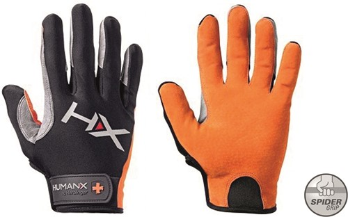Harbinger Men's X3 Competition Crossfit Fitness Handschoenen - Oranje/Zwart