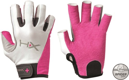 Harbinger Women's X3 Competition  Crossfit Fitness Handschoenen - Roze/Wit - L