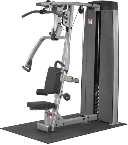 Dual Line Pro Dual Vertical Press & Lat Machine