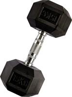 VirtuFit Hexa Dumbell - 15 kg - Per Stuk