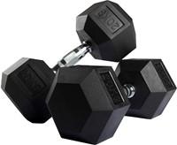 VirtuFit Hexa Dumbell - 20 kg - Per Stuk-2