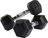 VirtuFit Hexa Dumbell - 4 kg - Per Stuk
