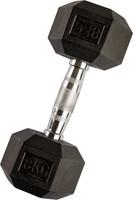 VirtuFit Hexa Dumbell - 8 kg - Per Stuk-1