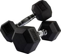 VirtuFit Hexa Dumbell - 9 kg - Per Stuk-2