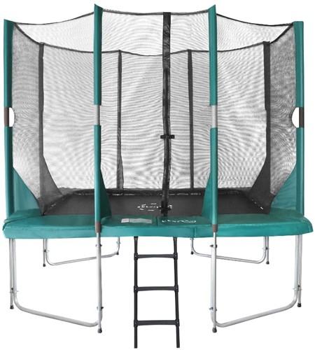 Etan Hi-Flyer Combi Trampoline met Veiligheidsnet - 281 x 201 cm - Groen