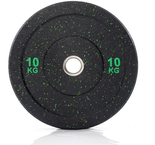 Muscle Power Hi-Temp Olympische Bumper Plate - Halterschijf - 50 mm - 10 kg
