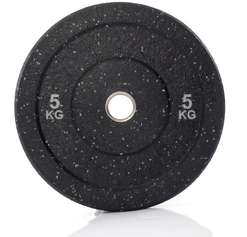 Muscle Power Hi-Temp Olympische Bumper Plate - Halterschijf - 50 mm - 5 kg