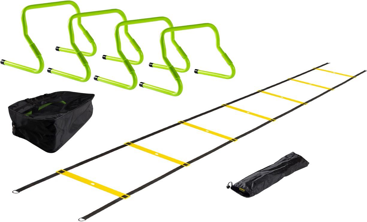 1f958b0ca3c VirtuFit Combideal: 4 Verstelbare Horden + Tas + Speed Ladder ...