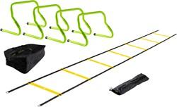 VirtuFit Combideal: 4 Verstelbare Horden + Tas + Speed Ladder