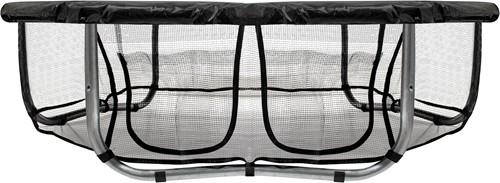 VirtuFit Trampolinerok met Opbergvak - Veiligheidsnet - 244 cm