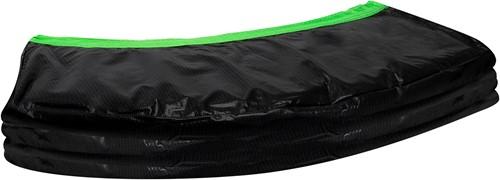 VirtuFit Trampoline Beschermrand - Zwart / Groen - 244 cm