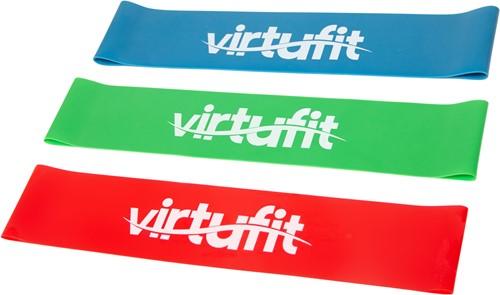 VirtuFit Mini Bands Set  - Weerstandsbanden - Fitness Elastieken - 3 stuks