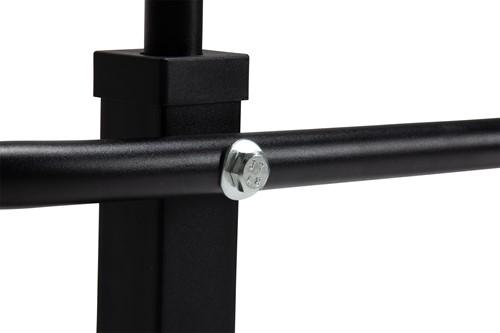 VirtuFit Multifunctionele Optrekstang Pro - Pull Up Bar - Wandmontage - Incl. Bevestigingsmateriaal - Zwart-2