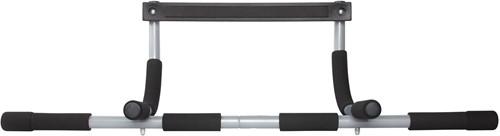 VirtuFit Multifunctionele Optrekstang - Pull Up Bar - Grijs/Zwart-3