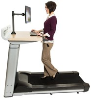 Life Fitness InMovement Treadmill Desk - Gratis montage-1