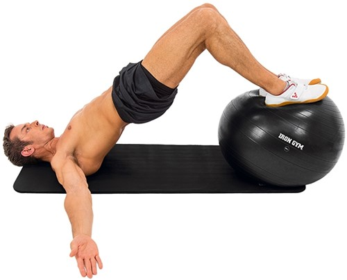Iron Gym Exercise Ball 65 CM - Met Pomp-2