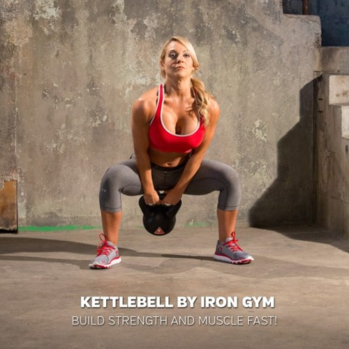 iron gym kettlebell model 2