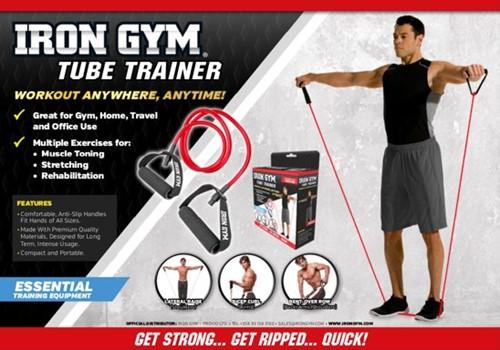 Iron Gym Tube Trainer - weerstandsband-2