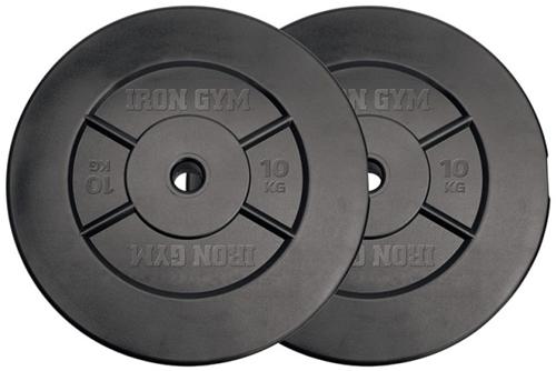 Iron Gym Halterschijven Set - 25 mm - 2 x 10 kg
