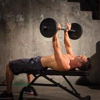 Iron Gym 20kg Adjustable Barbell Set - 25mm
