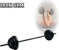 Iron Gym 20kg Adjustable Barbell Set - 25mm-1