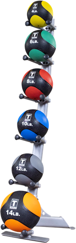 Body-Solid 6-Medicine Ball Rack