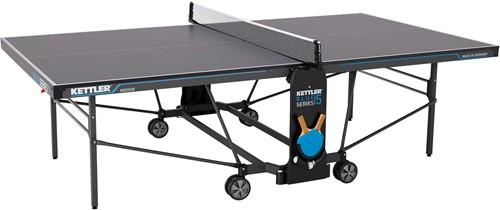 Kettler K5 Indoor Tafeltennistafel - Donkergrijs/Blauw
