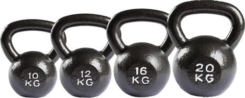 VirtuFit Kettlebell Set Gietijzer 10-12-16-20 kg