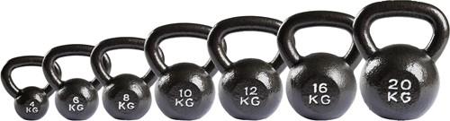 VirtuFit Kettlebell Set Gietijzer 4-6-8-10-12-16-20 kg