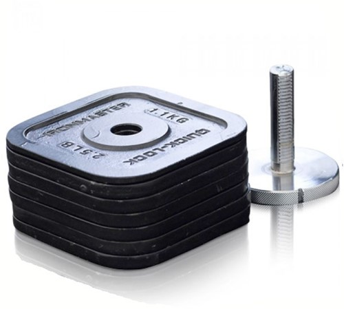 Ironmaster Quick-Lock Kettlebell Upgrade Kit met Locking Screw - 26,1 kg