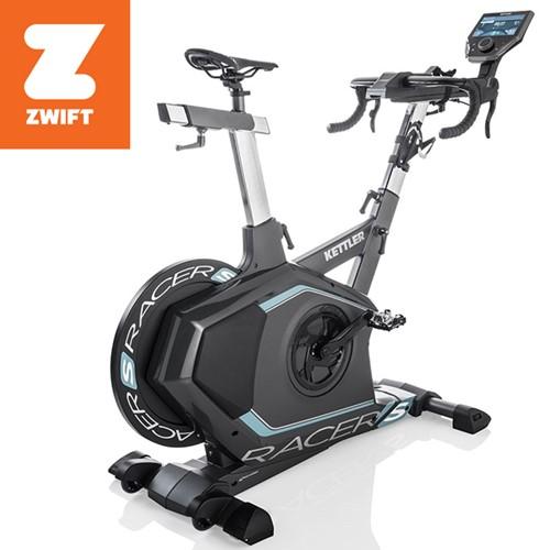 Kettler Racer S Spinbike 2018 - Inclusief Kettler world Tours 2.0  - Zwift compatible