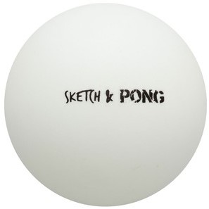 Kettler Sketch Pong Single Bat-3