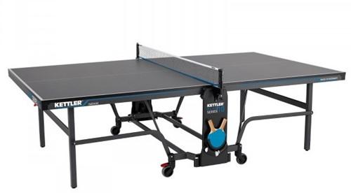 Kettler K10 Indoor Tafeltennistafel - Donkergrijs/Blauw