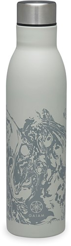 Gaiam Easy Grip Waterfles - 750 ml - Lava