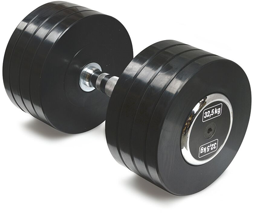 Body-Solid Pro Style Rubber Dumbells - 32.5 kg