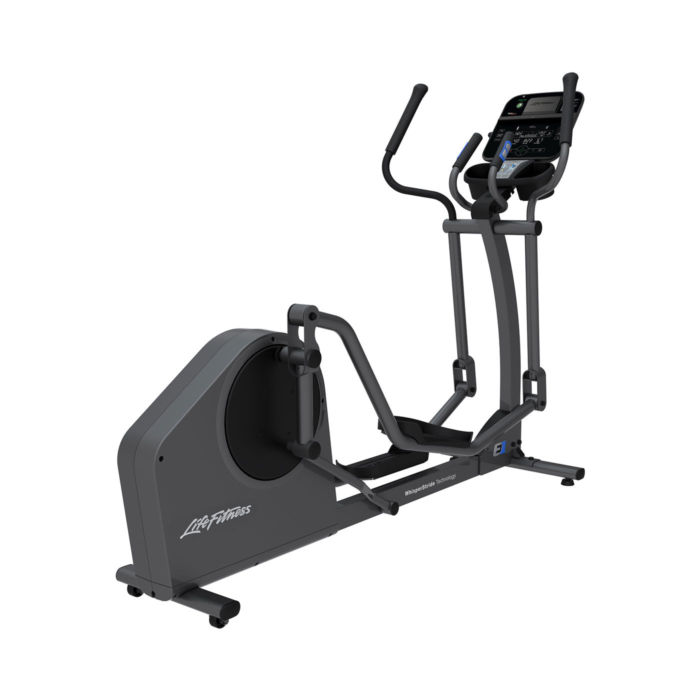 Life Fitness E1 Cross Trainer Base met Go Paneel