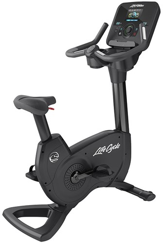 Life Fitness Platinum Explore Lifecycle Hometrainer - Black Onyx - Gratis montage