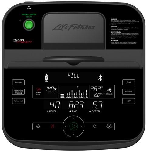 Life Fitness E3 Track Connect Crosstrainer - Gratis montage