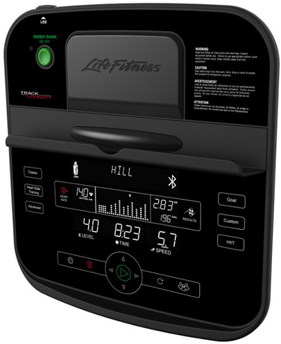 Life Fitness RS1 Track Connect Ligfiets - Gratis montage-3