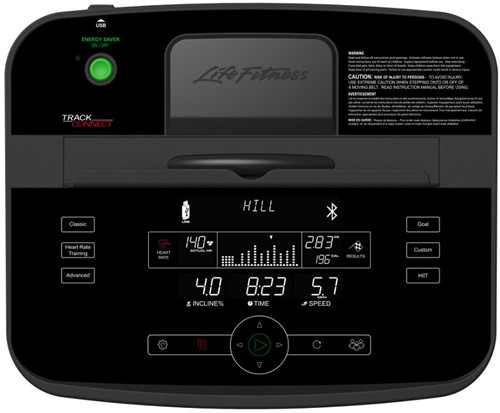 Life Fitness T5 Track Connect Loopband - Gratis montage-2