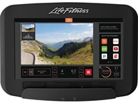 Life Fitness Platinum Discover SE3 Lifecycle Hometrainer - Diamond White - Gratis montage-2