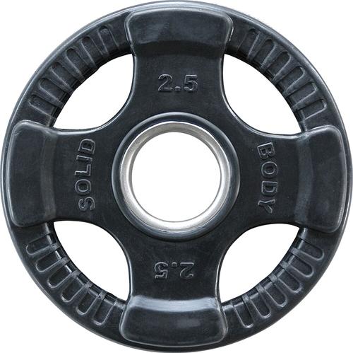 Body-Solid Olympische Rubber Halterschijf - 2,5 kg