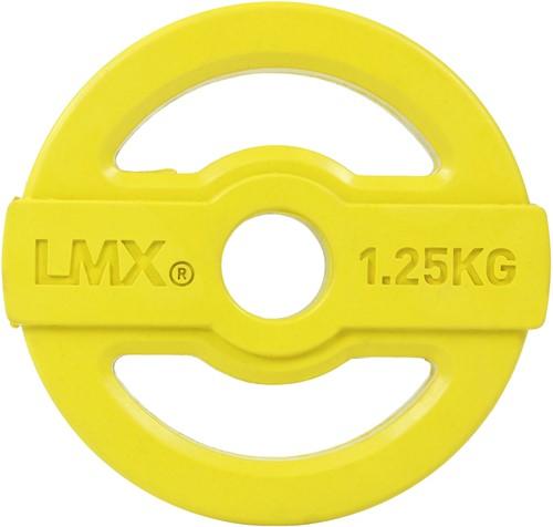 Lifemaxx Studio Pump Disc Halterschijf - 30 mm - 1,25 kg - Geel