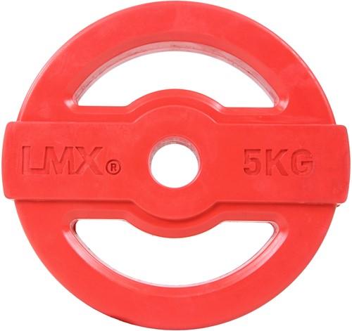 Lifemaxx Studio Pump Disc Halterschijf - 30 mm - 5 kg - Rood