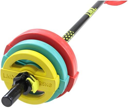 Lifemaxx Studio Pump Set - 19,5 kg - Gekleurd