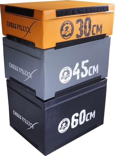 Lifemaxx Crossmax Soft Plyo Boxes 30 cm-2